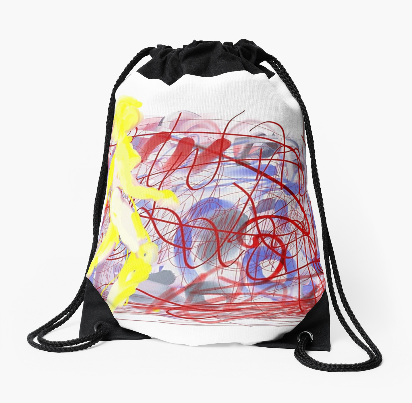 Graffiti Bridge drawstring bag