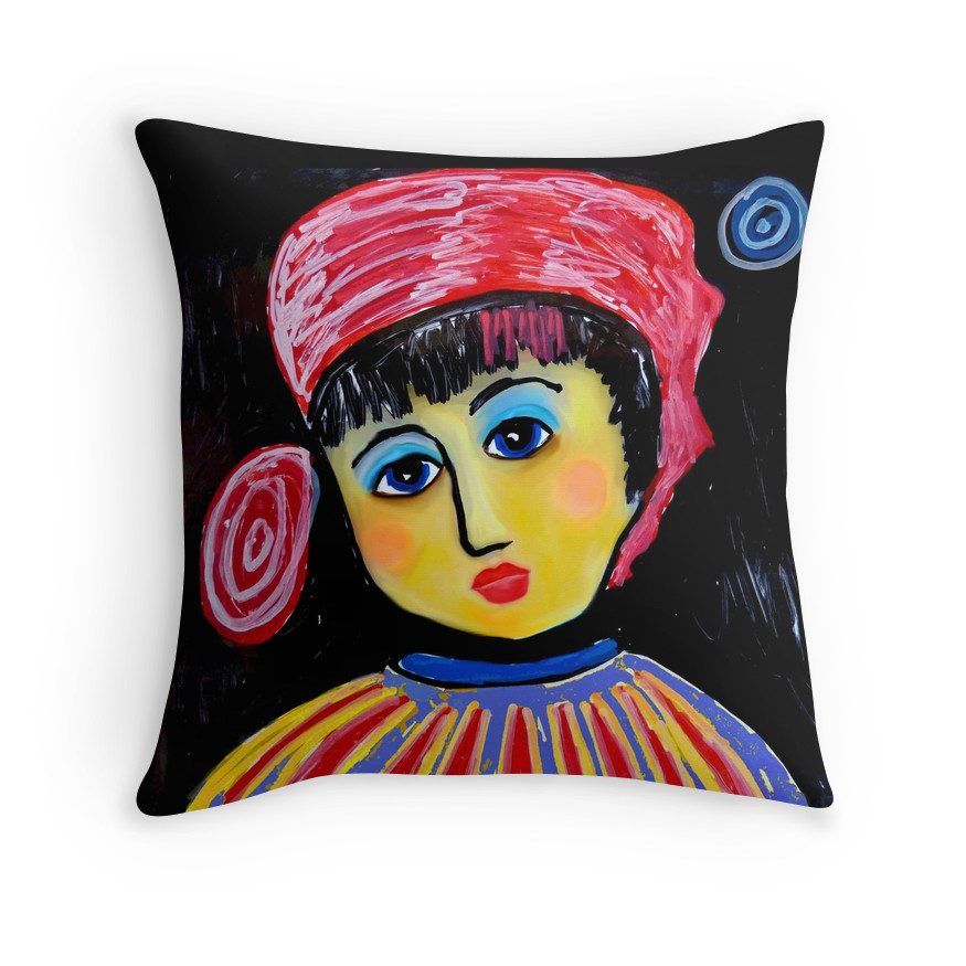 Josephine Face pillow